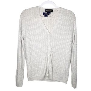 Vintage Brooks Brothers Silk Cashmere Sweater Set